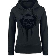 """Black Premium by EMP Hooded sweater, Women """"Lost Skull Hoodie"""" black • EMP"""