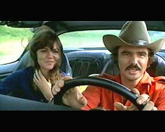 Smokey and the Bandit is a 1977 action comedy film starring Burt Reynolds, Sally Field. Old Tv Shows, Movies And Tv Shows, Hollywood Actresses, Actors & Actresses, I Movie, Movie Stars, Smokey And The Bandit, Burt Reynolds, Nerd