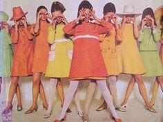 60s fashion Brazilian fashion magazine
