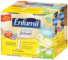 Enfamil  Premium, Ready To Use 8-Ounce,  (Pack of 16)