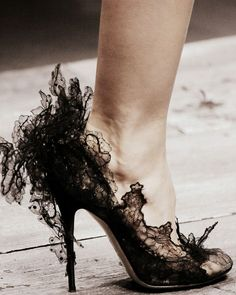 Lace Is More #laceheels