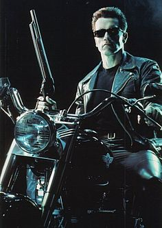 I love watching the terminator movies when they come on tv. They're the best in kitschy dystopian movies.