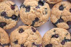 Vegan Blueberry Flax Muffins Gluten Free kbaked 3