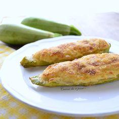 Zucchine ripiene con patate