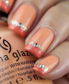 Peach jewels. so pretty in any color
