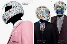 Daft Punk Inspired Fashion by 'Fucking Young' Magazine