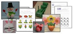 Spring Crafts and Worksheets from All Kids Network