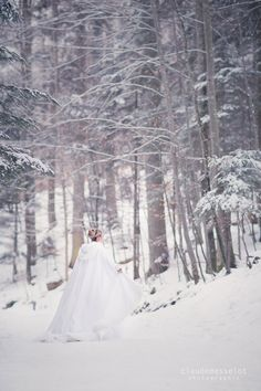 Louise et Jérémie – Day After dans la neige » Claude Masselot Photographie – Le Blog