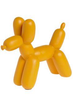 Balloon animal bookends=need! Balloon Dog, Balloon Animals, Animal Balloons, Balloon Party, Yellow Balloons, Nursery Inspiration, Tattoo Inspiration, Room Wall Decor, Bedroom Decor