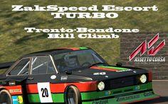 Assetto Corsa | Zakspeed Escort GR.5 Turbo[Beta mod test] | Trento Bondo...