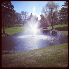 Prexy's Pond at Concordia College in Moorhead, MN! Lots of memories!