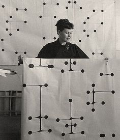Ray Eames. Dot Pattern Fabric