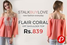 http://www.paisebachaoindia.com/flair-coral-off-shoulder-top-flat-30-off-just-at-rs-839-stalkbuylove/