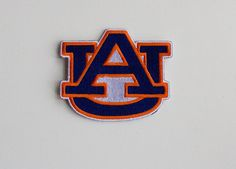 AUBURN UNIVERSITY... Iron On about 3 X 3 inches by Patchnpatterns.  5.99 and free shipping