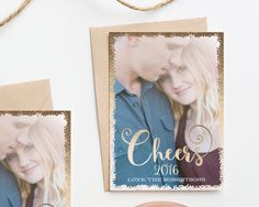 Confetti Cheers New Years Card https://www.etsy.com/listing/261733647/cheers-confetti-new-years-card
