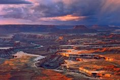 Canyonlands National Park comprises three distinct land districts: Island in the Sky, the Needles and the Maze. Description from visitutah.com. I searched for this on bing.com/images