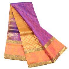 BUY ALL NEW Kanchipuram WS15O160 Lavender Colour Silk Saree AT LOW PRICE http://www.discountsvu.com/buy/kanchipuram-ws15o160-lavender-colour-silk-saree/?pipost