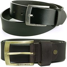 Alpine Swiss Mens Casual Jean Belt 35MM Genuine Dakota Leather This is rated as one of the most selling products online in Fashion category in USA. Click below to see its Availability and Price in YOUR country.