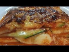 (7989) PARMIGIANA DI ZUCCHINE ROSSE IN FRIGGITRICE AD ARIA - YouTube Actifry, The Creator, Chicken, Youtube, Food, Essen, Meals, Youtubers, Yemek