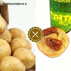 Muffin alla birra e pomodori