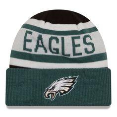 0466f5475e5 Philadelphia Eagles New Era Preschool Biggest Fan 2.0 Cuffed Knit Hat -  Black Midnight Green
