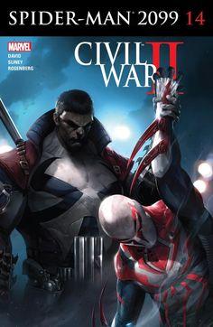 Spider-Man 2099 (2015) #14 #Marvel @marvel @marvelofficial #SpiderMan2099 (Cover Artist: Francesco Mattina) Release Date: 8/31/2016