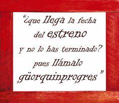 Frases raptadas de los teatros en 2014 VII - El güorquinprogres, por nico guau en El gallinero I | FronteraD