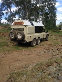 A unique 6 wheel-drive, built right here on the forums Land Rover Defender, Defender Camper, 6x6 Truck, Truck Camper, Trucks, Vintage Travel Trailers, Four Wheel Drive, Land Cruiser, Van Life