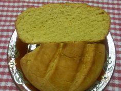 Pan casero con mezcla de harina de trigo y harina de maíz