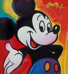 Mickey 2003 Unique 2003 by Peter Max