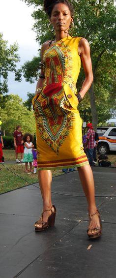 dashiki dress African style and fashion
