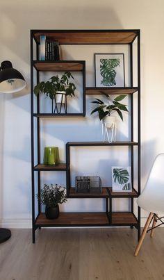 Home Room Design, Living Room Designs, Living Room Decor, House Design, Living Rooms, Iron Furniture, Home Decor Furniture, Furniture Design, Showroom Interior Design