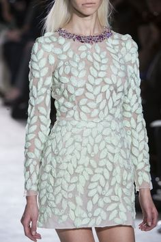 Giambattista Valli at Couture Spring 2014 - StyleBistro