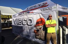 VIBCO President Karl Wadensten getting ready to show Vegas what the Expert Vibrator Guys have to show #woc2015