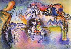 Wassily Kandinsky. Rider. San Jorge, 1915 - 1916