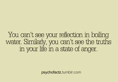 Reflection & Anger