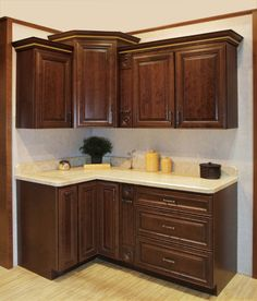 The Bayport Lava cabinet is a great choice for any home. The glazed finish compliments the natural color and grain of the cherry doors giving it a rich ... & 23 best Cabinetry: Kountry Wood images on Pinterest | Kitchen ...