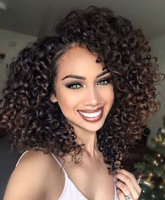Human hair wigs medium length curly hairstyles for african american women