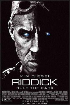 Riddick Poster Standup 4inx6in
