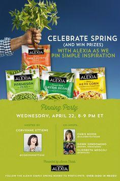 Spring Pinning Inspiration #AlexiaSimplySpring — Celebrations at Home