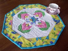 As I wait for my first tulips to bloom, I am impatient! Other people's tulips have bloomed. What, did I get slow learners? Tea Party Theme, Party Themes, Cherry Blooms, Quilted Table Toppers, Mug Rugs, Stuffed Hot Peppers, Egg Recipes, Vintage Images