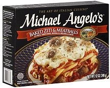 Michael Angelo's Baked Ziti & Meatballs scores a 57 for me on ShopWell. Click for your score. (http://www.shopwell.com/michael-angelos-baked-ziti-meatballs/frozen-appetizers-entrees/p/3736398233?f=at)