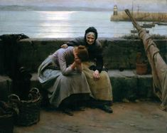 Motherhood - Walter Langley (1852-1922)