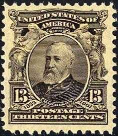 United States of America postal Stamp