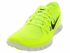 Nike Free 5.0 Men's Training Running Volt Gray Athletic Shoes