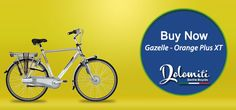 Gazelle Orange Plus XT – A New Electric Bike Offering Convenience and Style