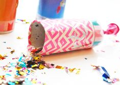 Silvester mit kind Silvester Party, Bunt, Sprinkles, Candy, Crafts, Inspiration, Kids Fun, Crafting, Biblical Inspiration