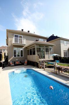 véranda maison neuve Gazebo, Muffins, Porch, Deck, Houses, Outdoor Decor, Gardens, Little Cottages, Patio Ideas