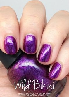 FingerPaints Wild Bikini  the most gorgeous purple I've ever seen