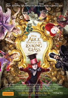 Feeling a little mad? Now travel Through The Looking Glass with Alice  #DisneyAlice